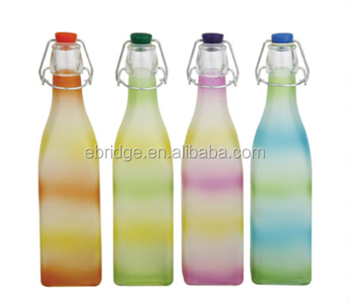 clip swing top orangeade Juice Glass Bottle 500ml