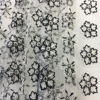 C5086 Embroidery Patch Flower Hand Saree Border Designs For Dress