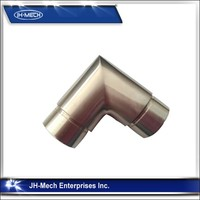Stainless steel handrail connect