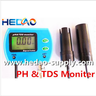 Popular Aquarium Pool Hydroponic Water Monitor mini ph digital inline tds meter