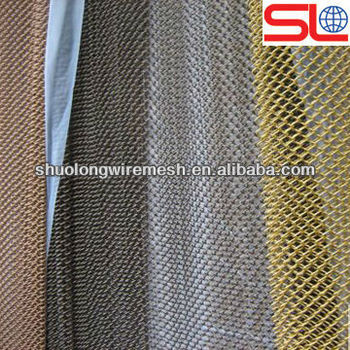 elegant decorative meshartistic wire meshmetal screen wall for curtain - Decorative Mesh