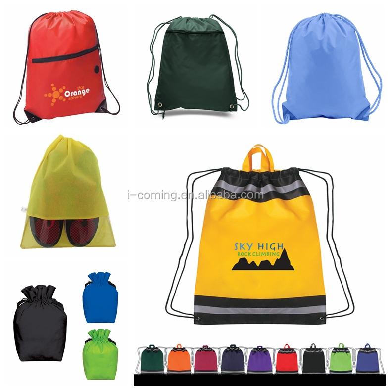 Custom Cheap Polyester Drawstring Bag Wholesale Drawstring Backpack Promotional  Drawstring Bag 0b4592ea2