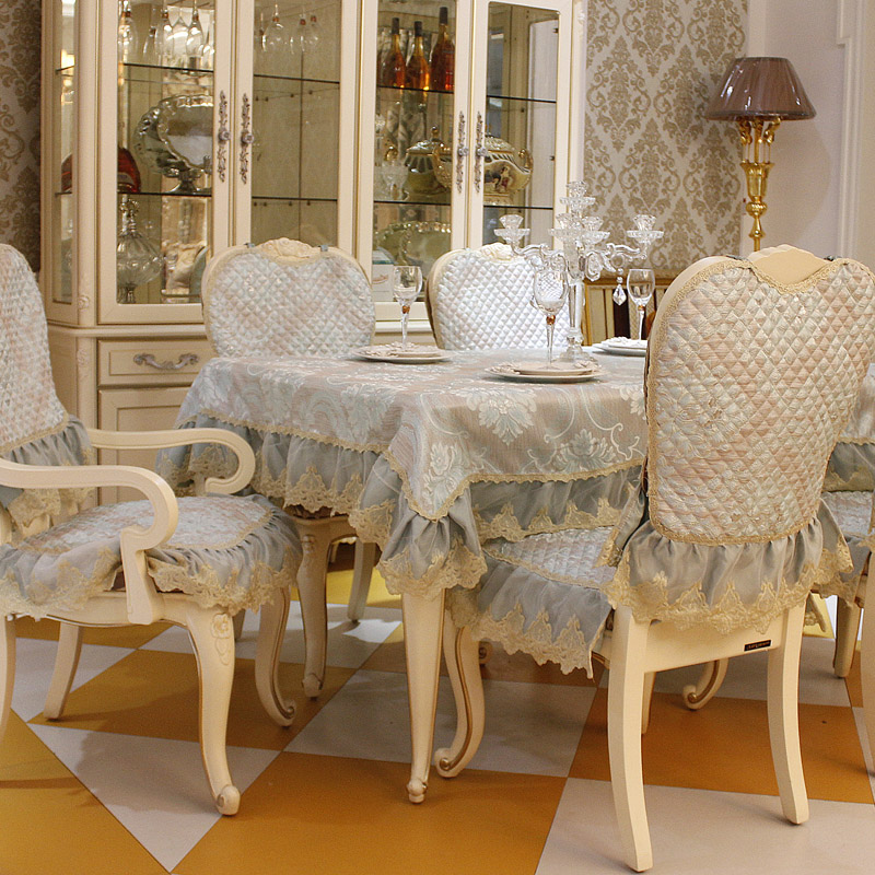 Dining Room Chair Cushion Covers: Top Grade Fashion Dining Table Cloth Chair Covers Cushion