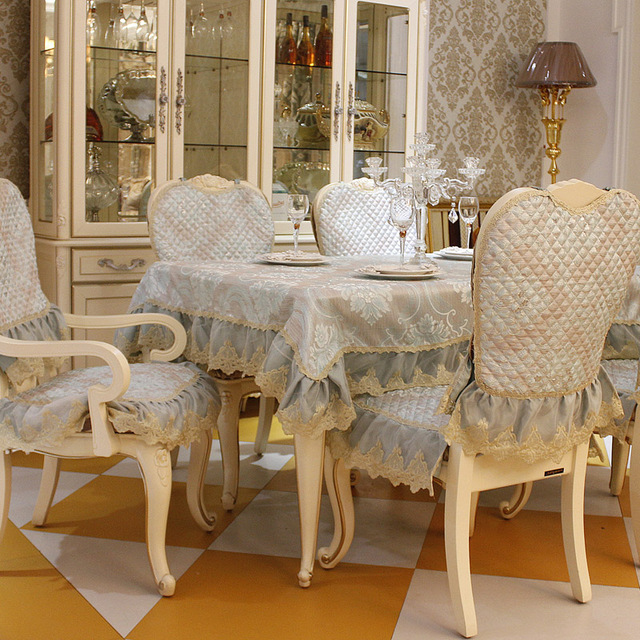 Dining Room Table Cover Pads: Top Grade Fashion Dining Table Cloth Chair Covers Cushion