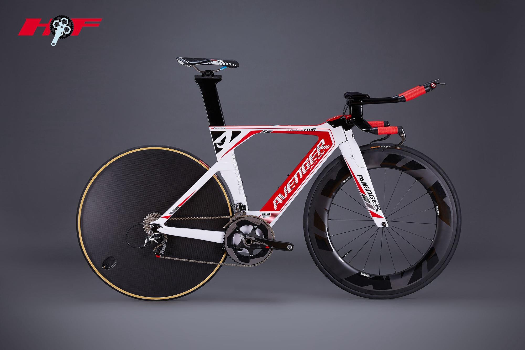 2015 HongFu designed hidden cable TT frame,carbon bicycle frame,New Time Trial carbon bike frame TM6