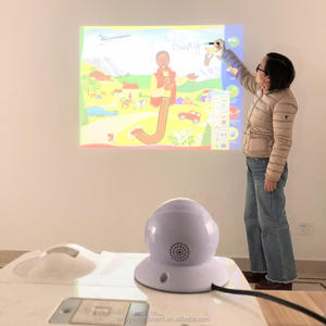 Multi-Users Auto-Calibrate Mini USB Interactive Whiteboard with Infrared IR Technology