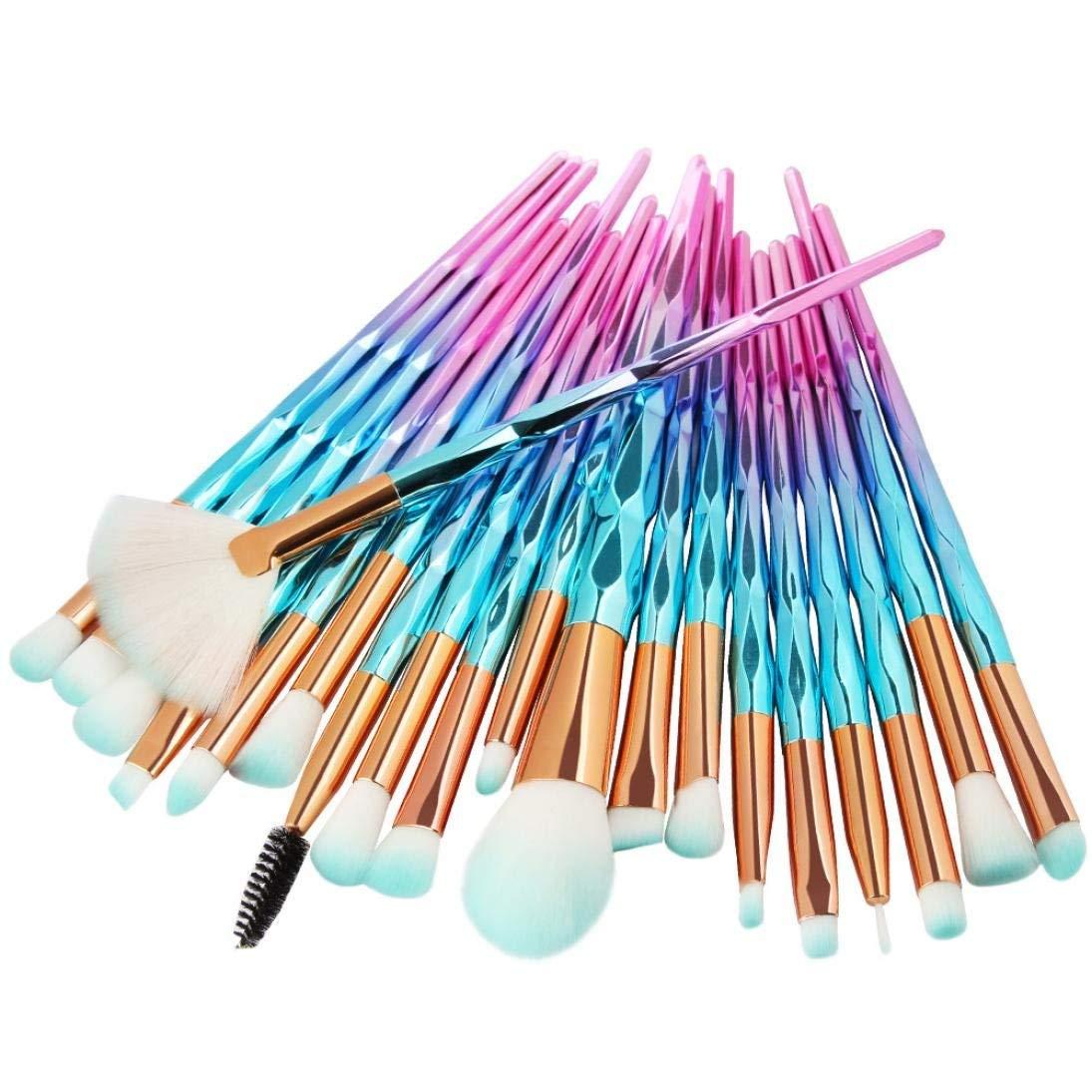 Eyeshadow Brushes,Makeup Brushes Set Professional,Posional 2018 | Professional Makeup Brush Set | Cosmetic Make Up Brushes | Foundation Brushes |Face Makeup Brushes|Concealer (Gradient Blue)