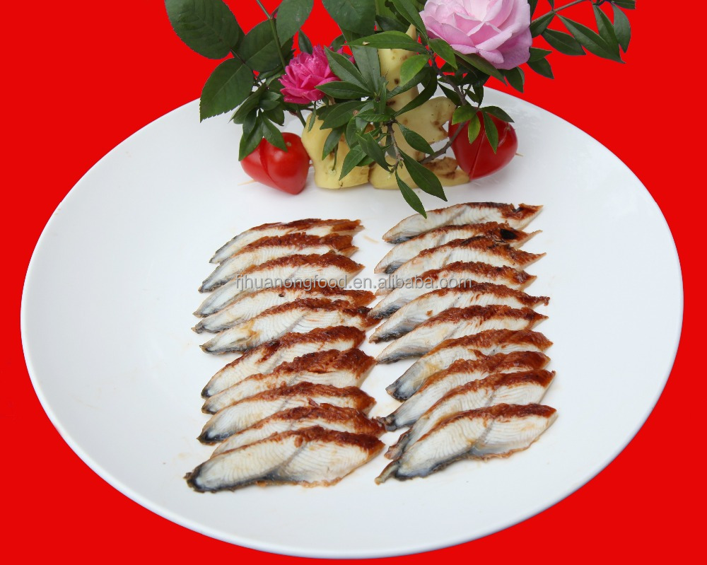 High quality Frozen Roasted Eel Slice,Frozen Roasted Eel sushi (Unagi Kabayaki Slice)