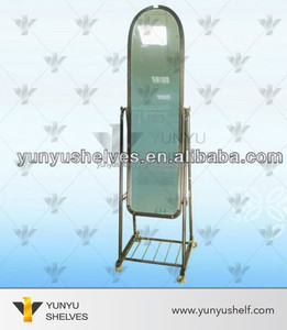 wholesale floor mirror large standing stand for floor full dressing mirror