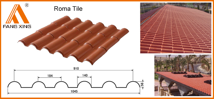 Asa Spanish Pvc Synthetic Resin Roof Tile Buy Synthetic