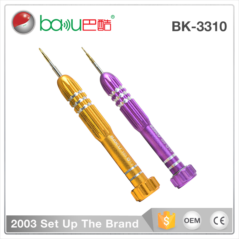 BAKU BK 3310 New Design 2 in 1 Fashion Mini Torx Precision Screwdriver Set For Iphone