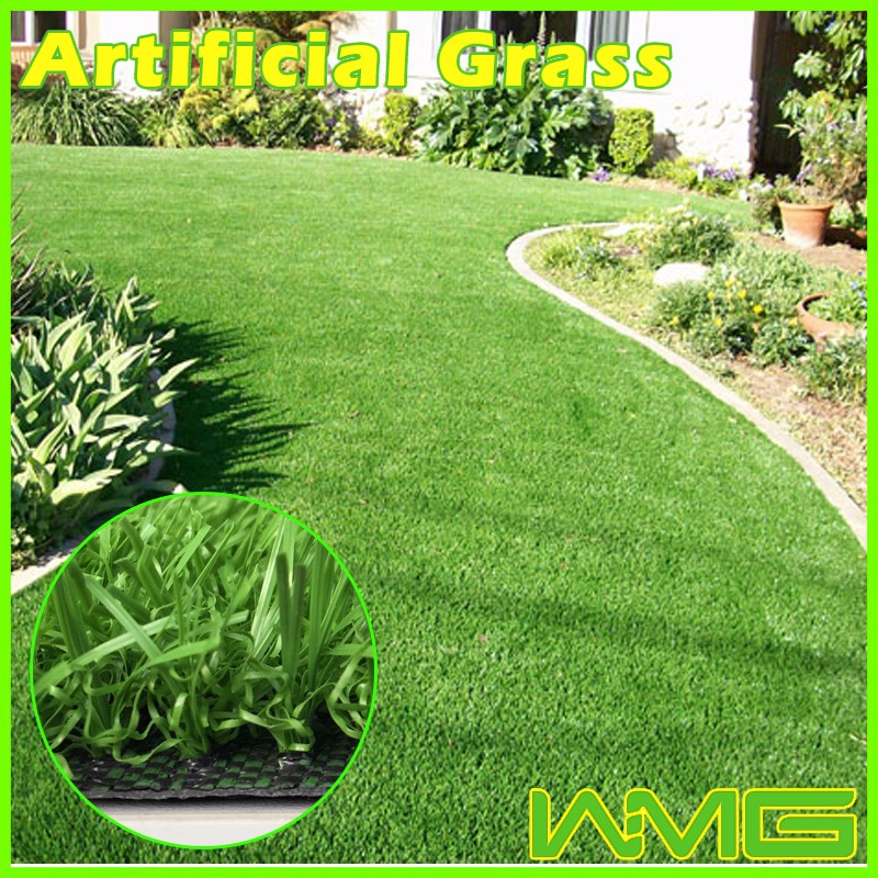 Good reputation synthetic grass wedding park decors with cheap price