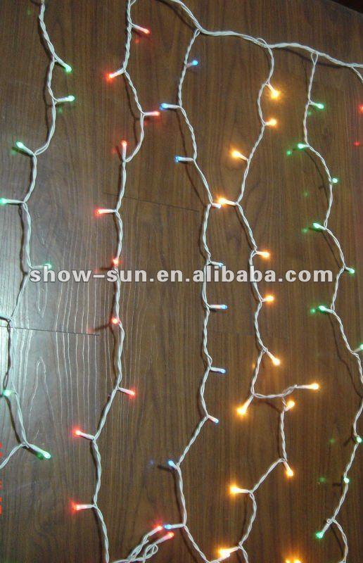 456 Rice Bulb Steady On Curtain Lights Cheapest Christmas Lights ...