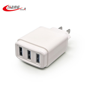 3 USB port Mobile phone 3.1A usb charger adapter