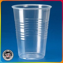 Custom Disposable PP Clear Plastic Cups