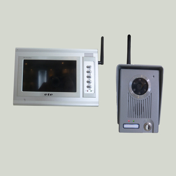 Ete 7 Inch Wireless Video Door Phone Audio Visual Intercom Entry