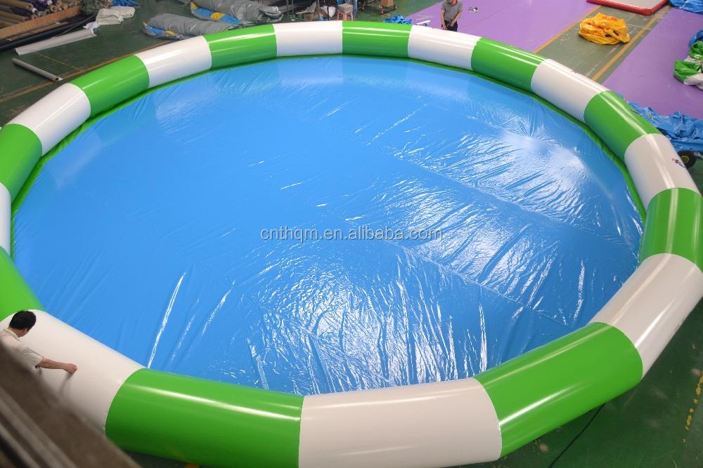 Ganze Verkauf Günstigen Preis Riesigen Runde Oder Quadratische Oder  Rechteckige Aufblasbares Schwimmbecken/aufblasbare Pool