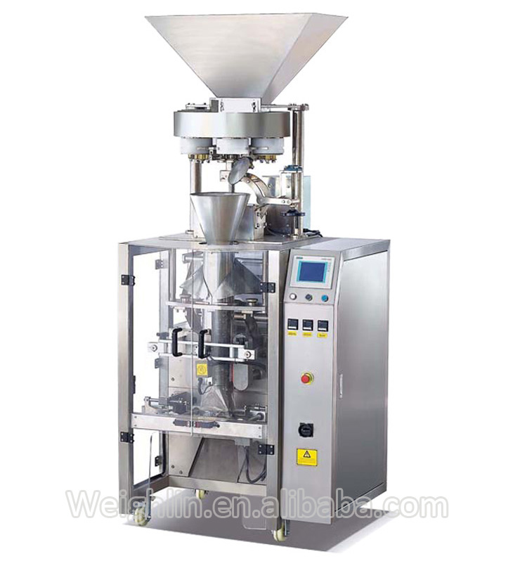Automatic film forming filling sealing packing machine for sauce flavoring with PE film laminated film