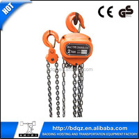 CB type for building tool with CE GS chain block manual hoist