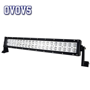 OVOVS 120W LED Light Bar with Combo Beam change Two-color Light White to Yellow SUV Off-road Driving Light