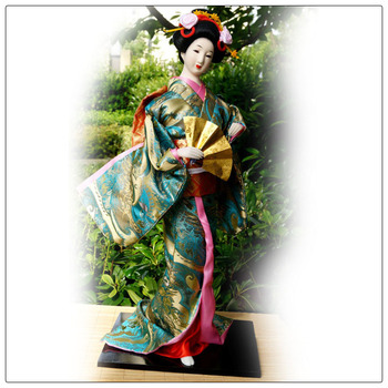 22 Inch Size 100% Handmade Carfts ,Home Decoration Doll Japanese