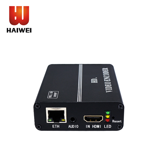 Haiwei iptv h.264 attrezzature ip hdmi in diretta streaming encoder per iptv