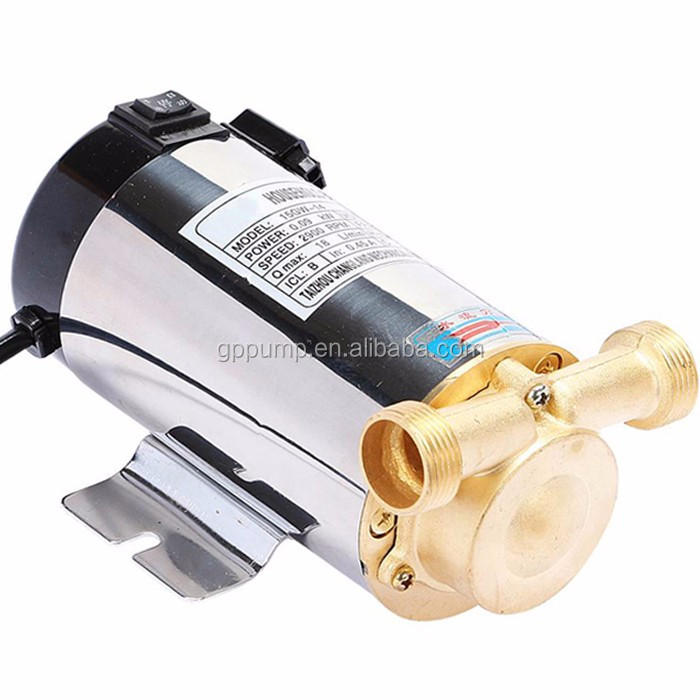 OEM Customized Small Mini Pressure Household Shower Booster Pump For Automatic Washing Machine Hot Water Heater Switch