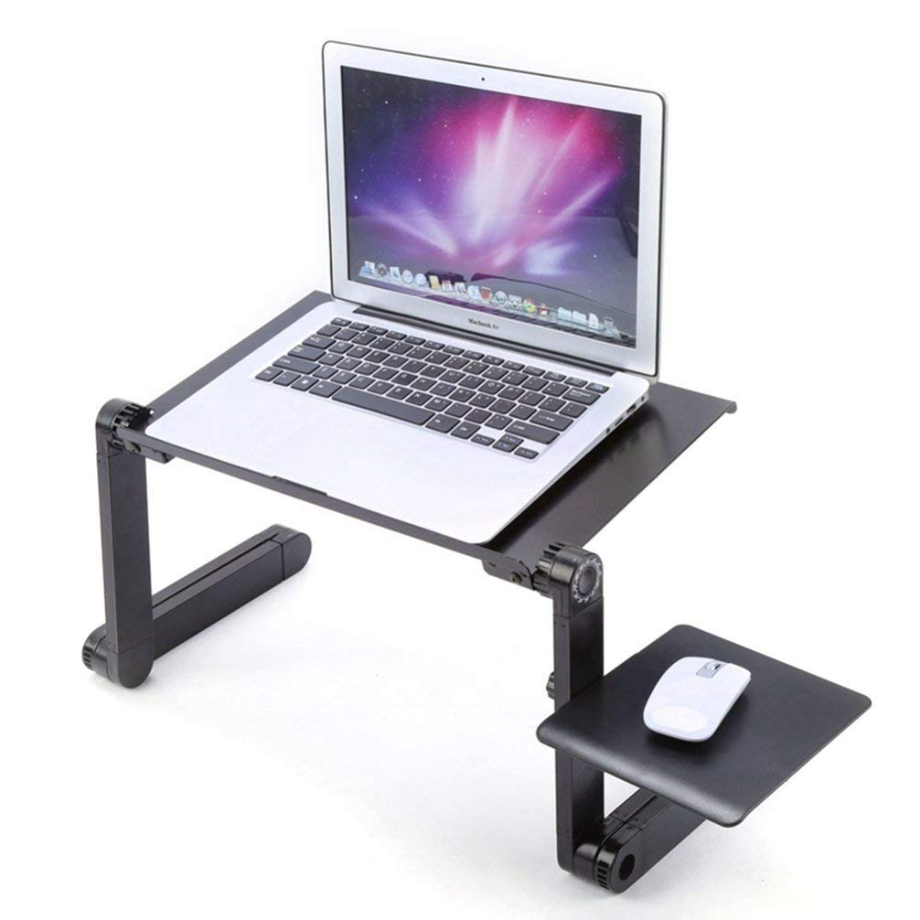 Foldable Adjustable Laptop Dormitory Bed Table Stand Lap Sofa Bed Tray Computer Notebook Desk Laptop Table Desk