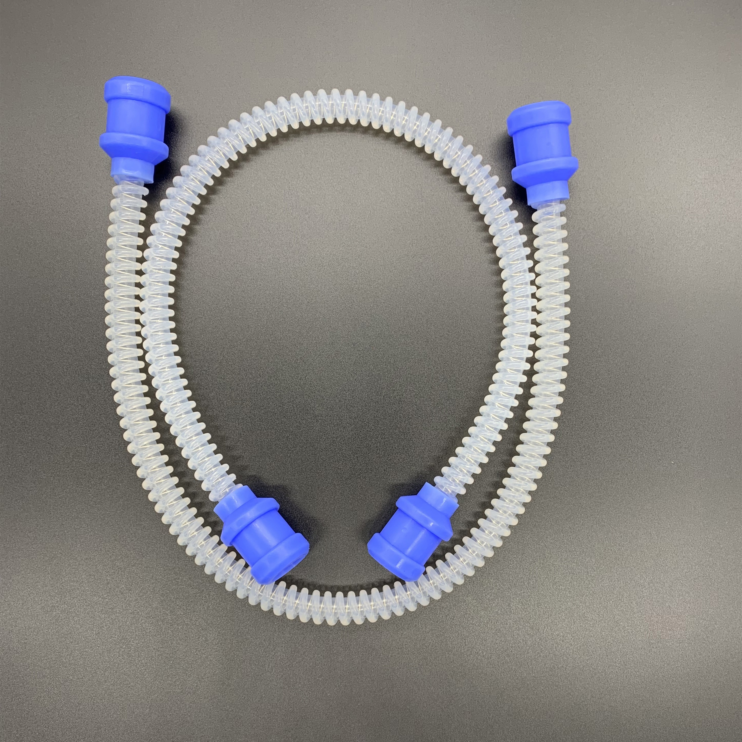 Silicone Reusable Corrugated Anaesthesia Breathing Circuit