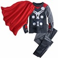 Autumn Children Boys Avengers Tracksuit Spiderman Hulk Batman Captain America Iron Man Pajamas Suits Baby Clothing