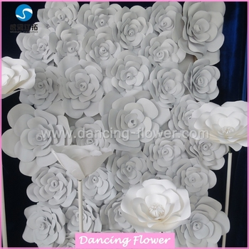 Awesome Foam White Big Paper Flowers Wfom 02 Buy White Big Paper