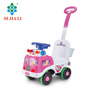 Cartoon Ambulance Sliding Function Baby Ride On Car Toys Baby Walker With Push Handle