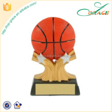 basketball shooting star resin trophy award