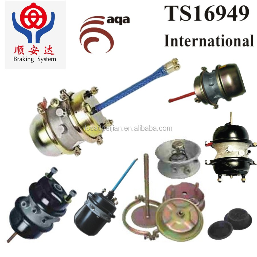 Abs Air Spring Brake Chamber In China(t12,T24,T30,T2424,T3030 ...