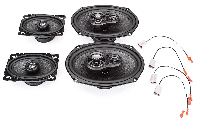1992-1993 Pontiac Bonneville Complete Factory Replacement Speaker Package by Skar Audio