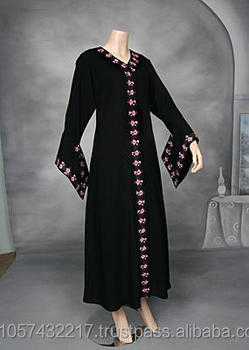 Arabic ladies gown Muslim plus size nightgown New abaya 2014 -Latest Muslim  Women 1f3857aff