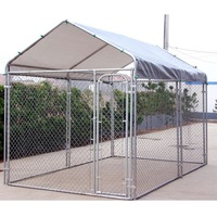 High quality cheap lowes welded dog kennel,chain link dog house runs,large dog fence wholesale