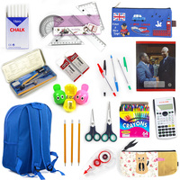 we can offer all the Back to school products government tender bid student backpack school for kids stationery set