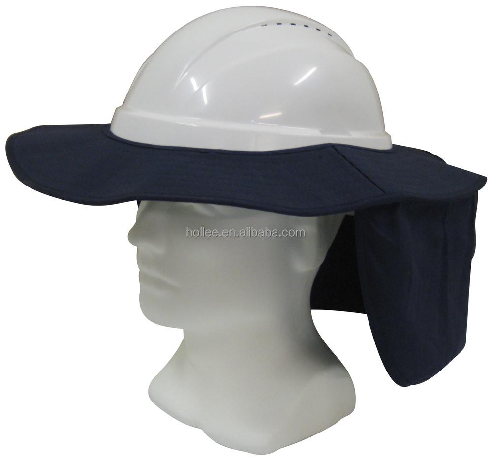 be779b5e4a1 Australian White Safety Helmet Hard Hat Brim With Neck Flap - Buy ...