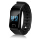OLED display blood pressure watch heart rate monitor pedometer fitness intelligent bracelet