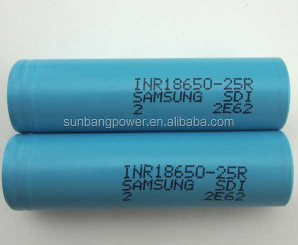 CE,MSDS certification approved 18650 samsung icr18650-24e 2400mah