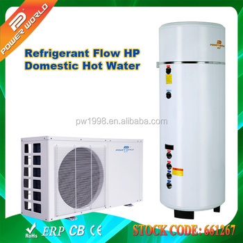 Best performance 500l hot water tank refrigerant for Domestic hot water heaters