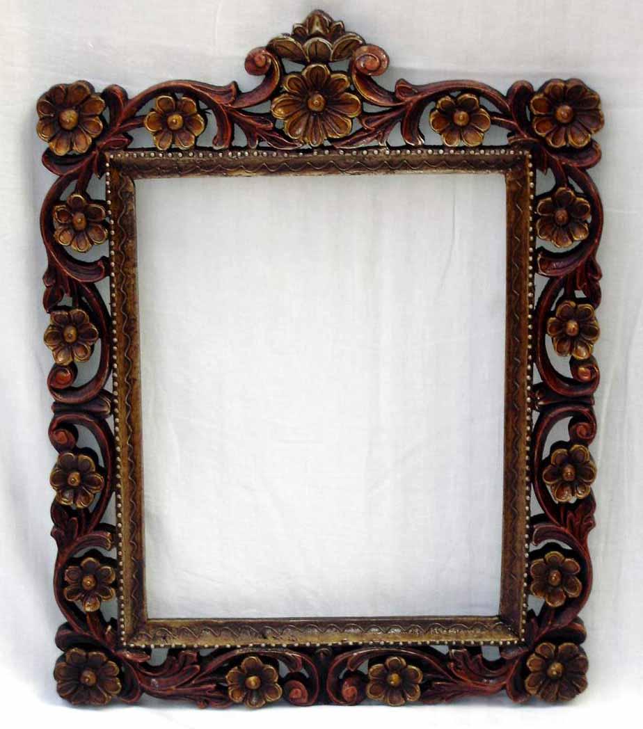 Marco de fotos de madera tallada marco identificaci n del producto 101270426 - Marcos de fotos madera ...