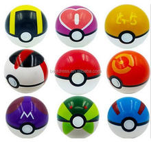 walson instyles copyright 9 Pieces Different Style Ball +9 Pieces Figures Plastic Super Anime Figures Balls for Pokemon Kids Toy