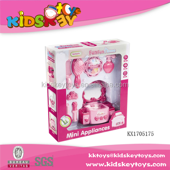 kids mini plastic makeup toys set with dresser buy kids makeup