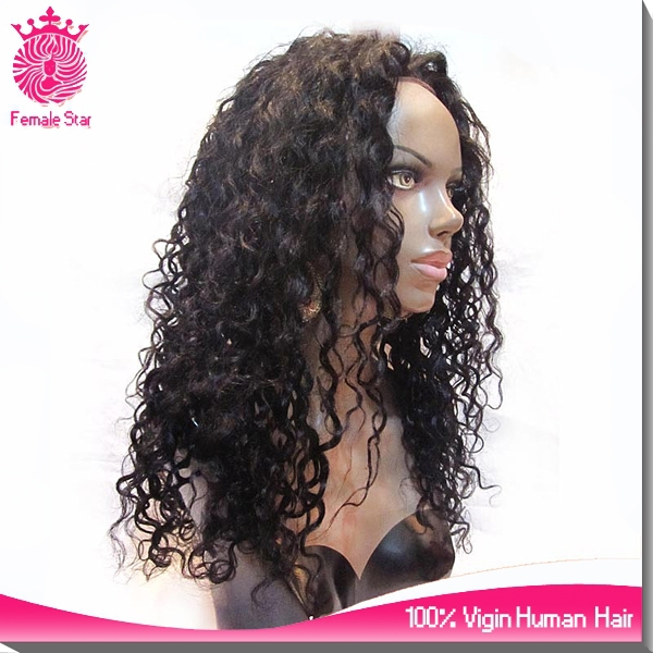 Alibaba buy long deep wave african american women wigs large african american lace front wigs
