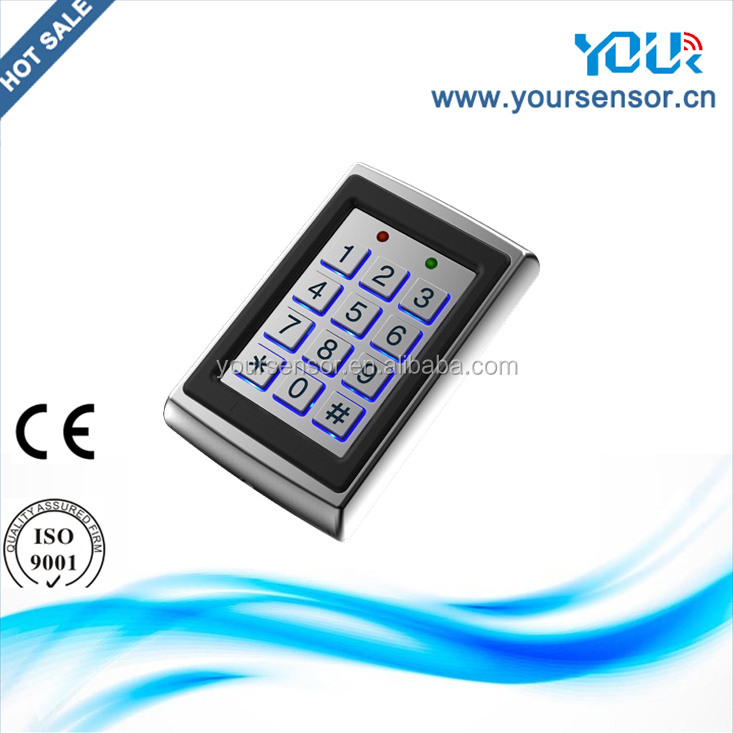 Hot sale & Cheap price access control system automatic door usage RFID Stainless Metal access keypad (YS502)