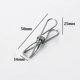 Good Metal Stainless Steel Wire Clothespins Clothes Pins Utility Peg Home/Office