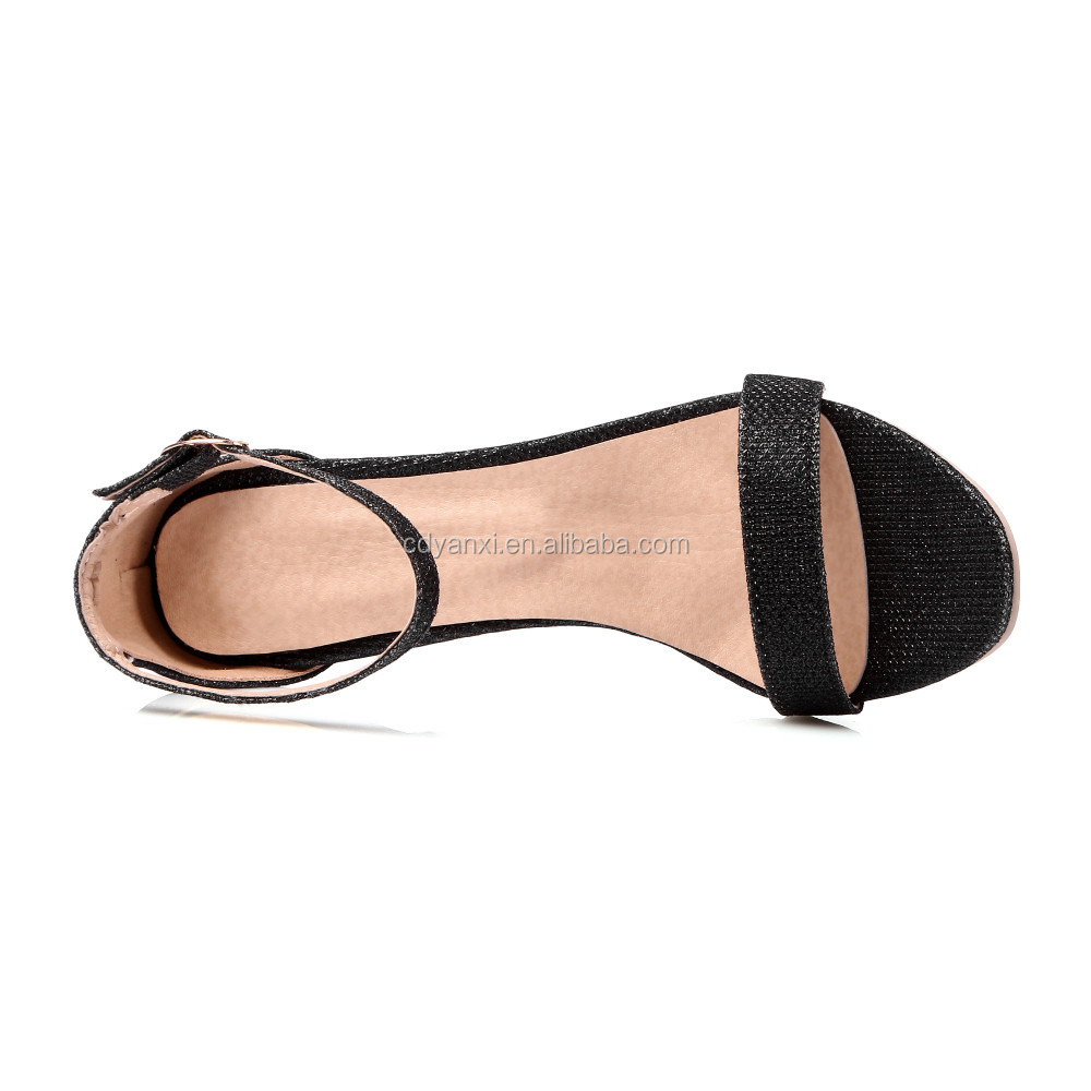 bec56ae75 Custom Low Price Women Ladies Summer Fancy High Heel Sandals Shoes Girls  Fashionable Sandals