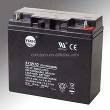 12v 17ah Valve Regulated Sealed Rechargeable Lead Acid Battery